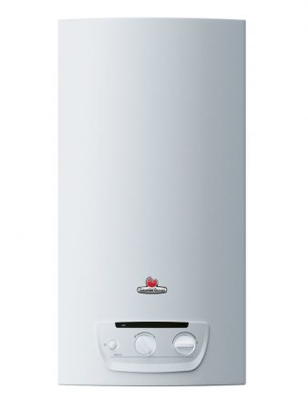 Saunier Duval OPALIA C11 E-B/C14 E-B  (N-HU) átfolyó rendszerű kéményes gáz vízmelegítő, ErP-ready