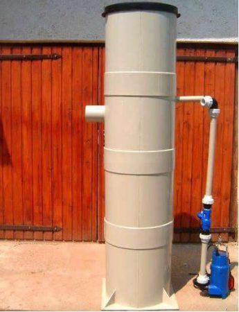 Szennyvízátemelő tartály II 500x1100 mm